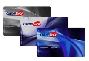 Onde aceita o cartão de crédito Credi-Shop?